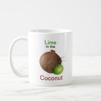 Lime and Coconut Coffee Mug