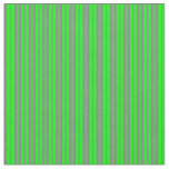 [ Thumbnail: Lime and Grey Lined Pattern Fabric ]