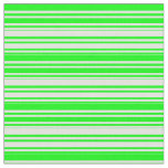 [ Thumbnail: Lime and Light Cyan Colored Lines Fabric ]