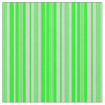 [ Thumbnail: Lime and Light Gray Colored Pattern Fabric ]