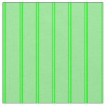 [ Thumbnail: Lime and Light Green Lines Pattern Fabric ]