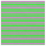 [ Thumbnail: Lime and Orchid Colored Striped/Lined Pattern Fabric ]