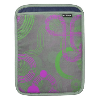 Lime and Pink Cyber Sleeve For iPads