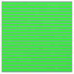 [ Thumbnail: Lime and Purple Colored Striped Pattern Fabric ]