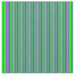 [ Thumbnail: Lime and Purple Lines/Stripes Pattern Fabric ]
