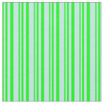 [ Thumbnail: Lime and Turquoise Pattern of Stripes Fabric ]