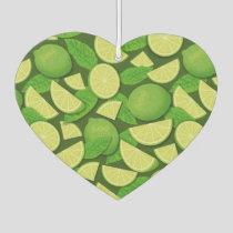 Lime Background Air Freshener