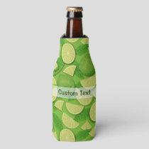 Lime Background Bottle Cooler