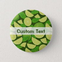 Lime Background Button