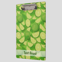 Lime Background Clipboard