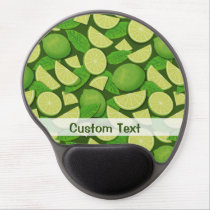 Lime Background Gel Mouse Pad