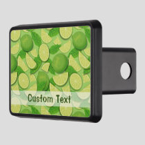 Lime Background Hitch Cover