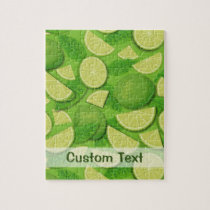 Lime Background Jigsaw Puzzle