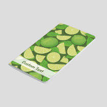 Lime Background Journal