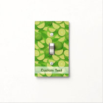 Lime Background Light Switch Cover