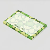 Lime Background Post-it Notes