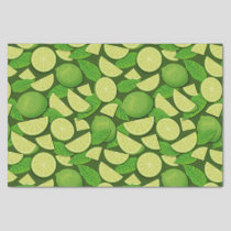 Lime Background Tissue Paper