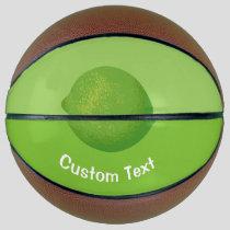 Lime Basketball