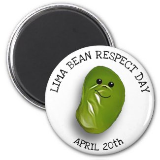 Lime Bean Respect Day April 20th Magnet