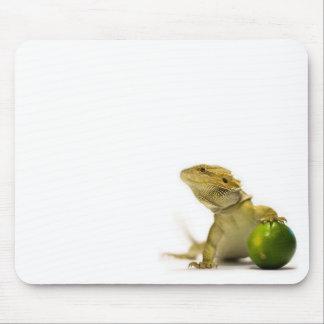 Lime Beardy Mousepad