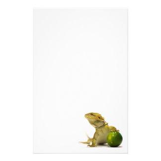 Lime Beardy Paper Stationery