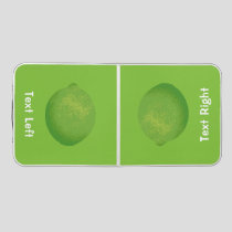 Lime Beer Pong Table