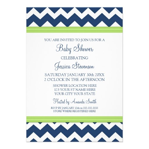 custom baby shower invitations 5 x 7 invitation card zazzle
