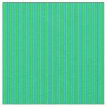 [ Thumbnail: Lime & Blue Pattern Fabric ]