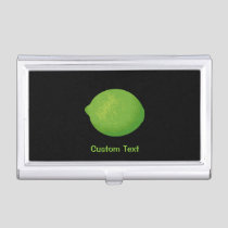 Lime Business Card Case