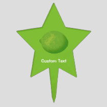 Lime Cake Topper