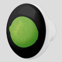 Lime Ceramic Knob