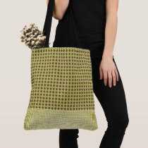 Lime-Choclate-Geo-Mod-Gold-Totes-Shoulder-Bags Tote Bag