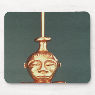 Lime Container of Cast Gold, Quimbaya Mouse Pad