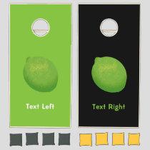 Lime Cornhole Set