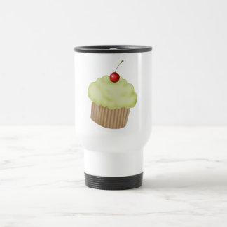 Lime Cupcake 15 Oz Stainless Steel Travel Mug