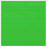 [ Thumbnail: Lime & Dark Green Colored Lined/Striped Pattern Fabric ]
