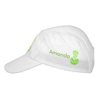 Lime Dragon 2 tattoo Headsweats Hat