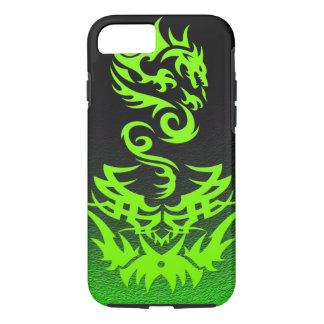 Lime Dragon 2 tattoo iPhone 7 Case