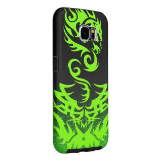 Lime Dragon 2 tattoo Samsung Galaxy S6 Cases