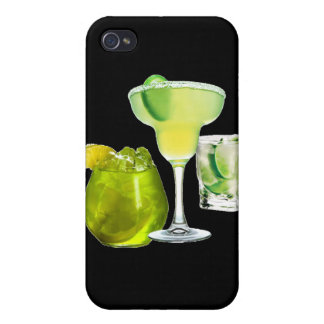 Lime Drinks Cover For iPhone 4