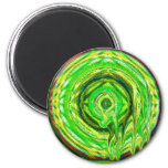 lime droop refrigerator magnets