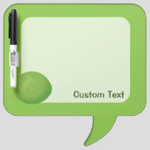 Lime Dry Erase Board