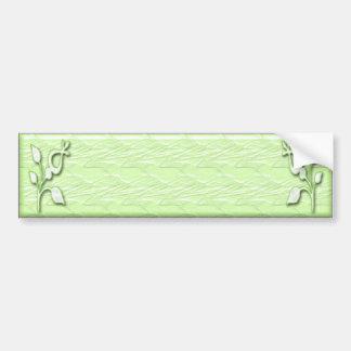 Lime Elegance #1 Bumper Sticker