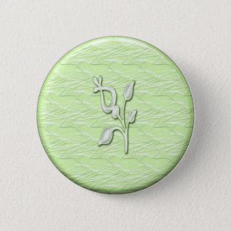 Lime Elegance #1 Button