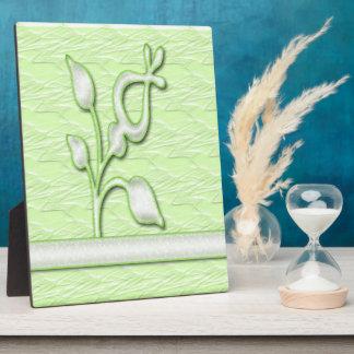 Lime Elegance #1 Plaque