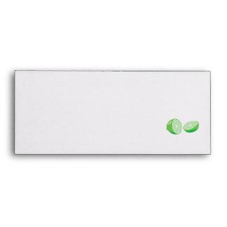 lime envelopes