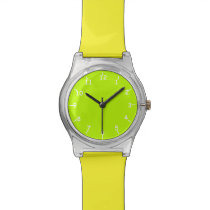 Lime-Faced Watch