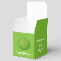 Lime Favor Box