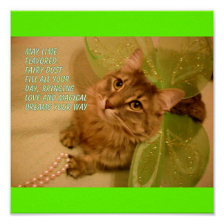 LIME FLAVOR fairy dust Poster