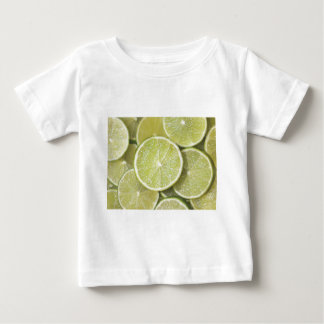 lime fruit green juicy juice thanks party fun baby T-Shirt